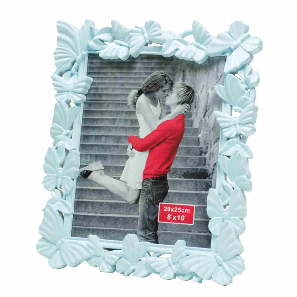 Porta Retrato De Plast Fly Azul C10X15Cm 3556 Lyor