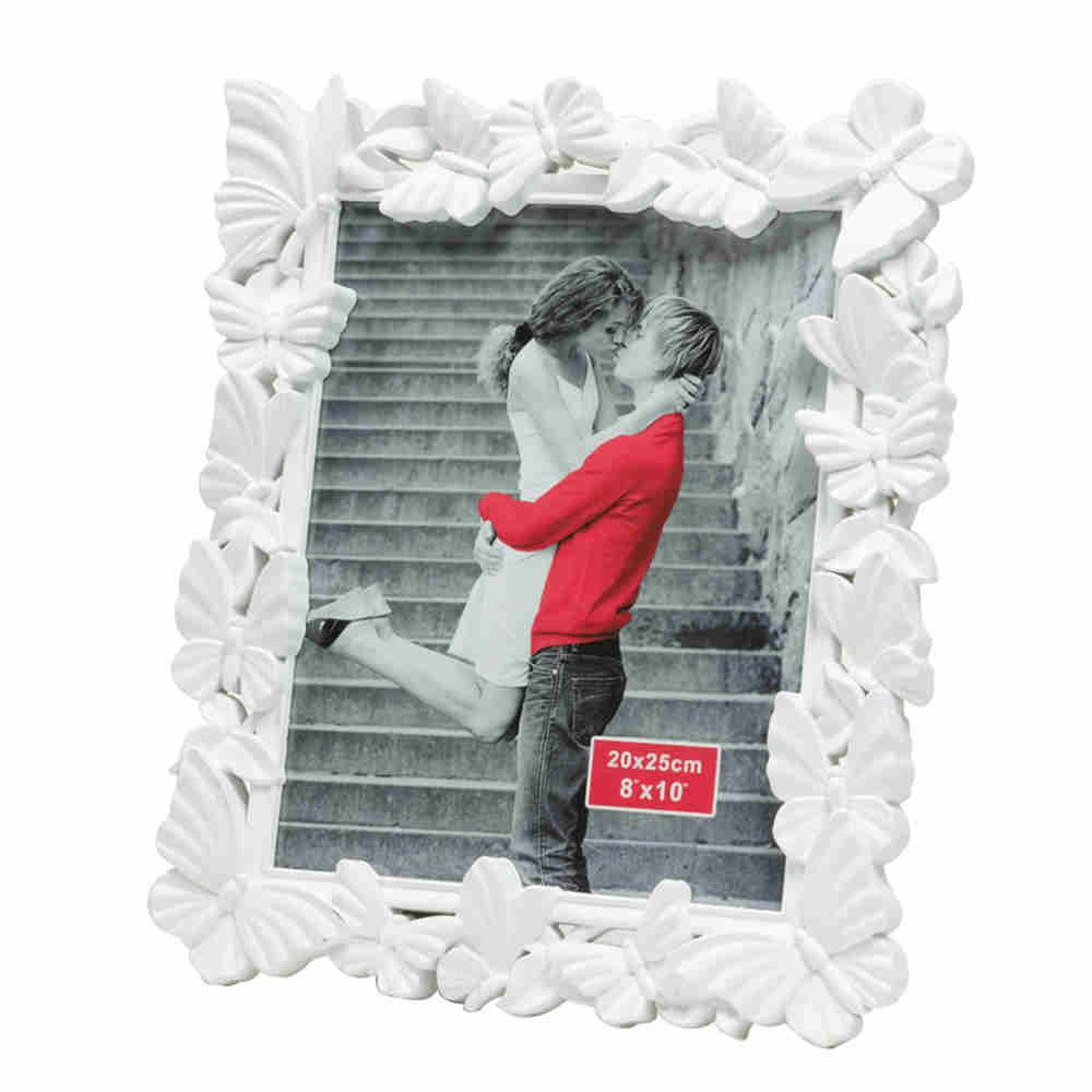 Porta Retrato De Plast Fly Branco 13X18Cm 3558 Lyor