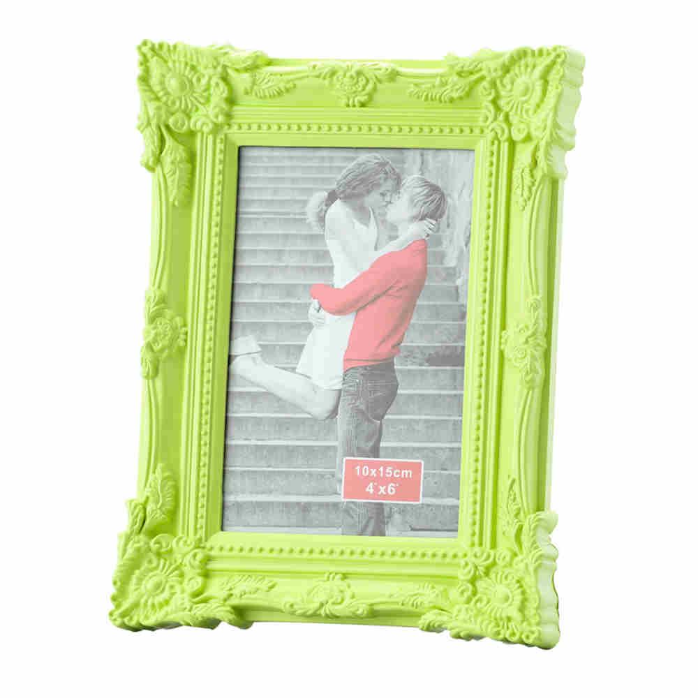 Porta Retrato Retro Verde 20X25Cm - Lyor