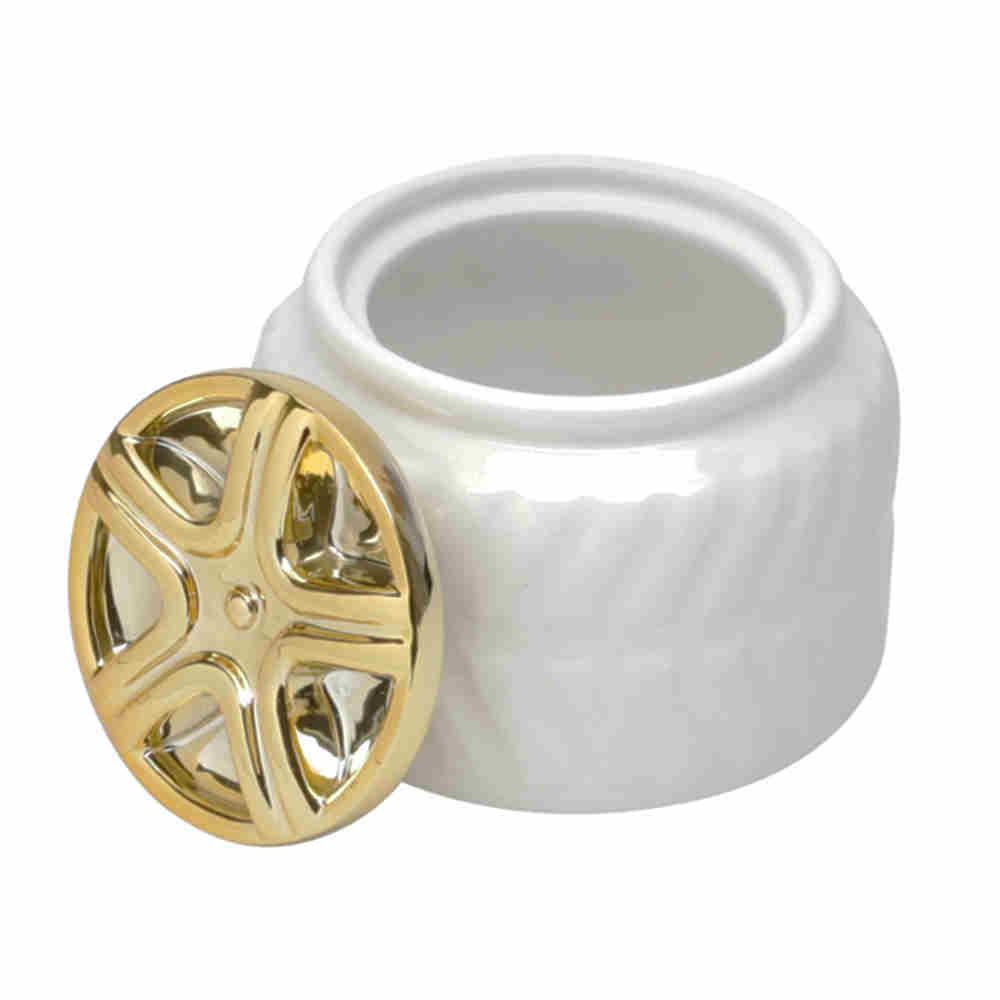 Pote Decorativo em Cerâmica Elegante - Lyor