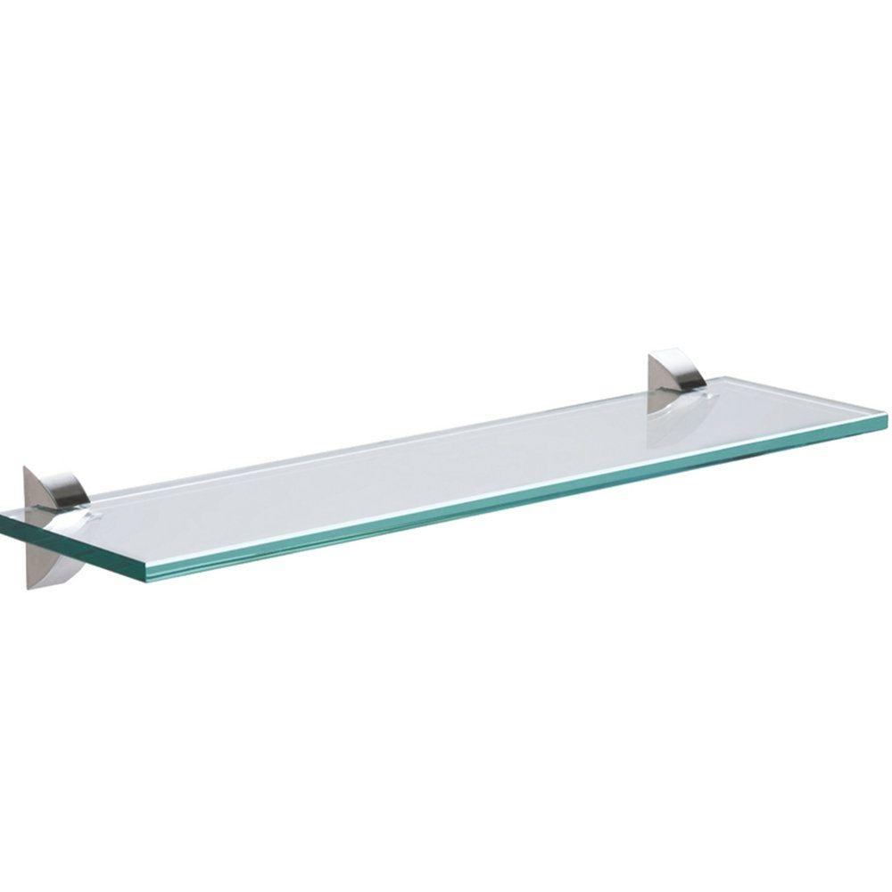 Prateleira Reta 400X100X8Mm Glass Tramontina 91220410