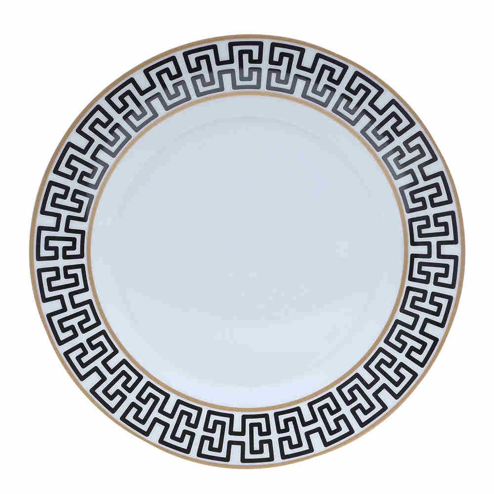 Prato Raso de Porcelana Super White Egípcio - Lyor