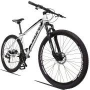 Bicicleta Aro 29 Dropp Z3 21v Câmbios Shimano Freio a Disco Mecânico Quadro 15  Branco/Preto