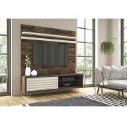 Painel Venezza Deck/Off White - HB Móveis