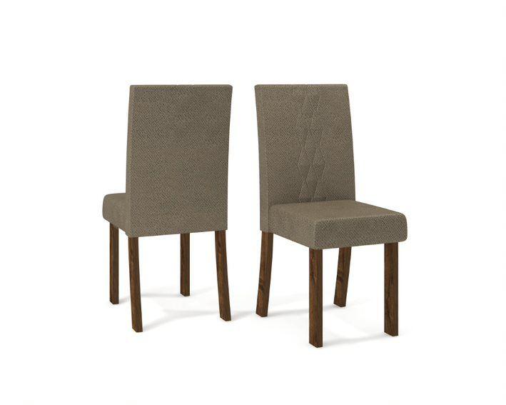 Cadeira De Jantar  ELISA TRUFA CAMURÇA- CONJUNTO COM 2 CADEIRAS