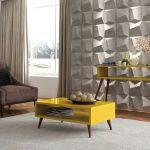 Mesa de Centro HB Móveis Lucy Amarelo - HB Móveis