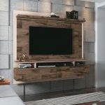 Painel para TV HB Móveis Limit 1.8 Deck Off White - HB Móveis