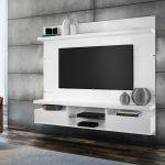 Painel para TV HB Móveis Livin 1.8 Branco - HB Móveis