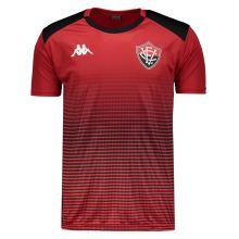 Camisa Kappa Vitória Concentração 2019 Vermelha