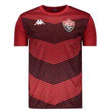 Camisa Kappa Vitória Treino 2019 Vermelha