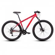 Bicicleta TSW Ride Mtb 21 Velocidades Tam 17 Vermelho/Cinza Aro 29