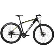 BICICLETA 29 SOUL SL129 TOURNEY 21V FREIO DISCO PRETA 2020