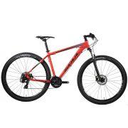 BICICLETA 29 SOUL SL129 TOURNEY 24V FREIO DISCO VERMELHA 2020
