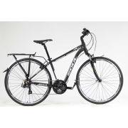 Bicicleta Soul Miracle 700c 21 Velocidades Preto/Branco