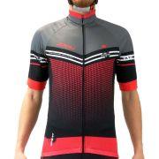 Camisa Ciclismo Masculina Refactor Hurricane 3xu Vermelh