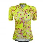 Camisa Feminina Márcio May Funny Neon Bike
