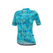 Camisa Feminina Márcio May Funny Bikes Light Azul