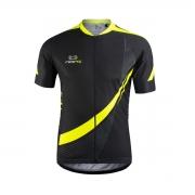 Camisa Masculina Light Marcio May Preta/Amarelo Fluor