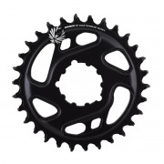 COROA SRAM GX EAGLE BOOST 1X12 30T 3MM DIRECT MOUNT ALUMÍNIO PRETO