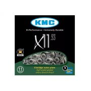 Corrente Bicicleta Kmc X-11 Silver Prata 11v Shimano Sram
