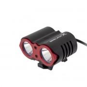 FAROL 2 X LED CREE 1600 LUMENS REC COM BATERIA
