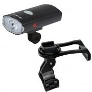 Farol Bike 250 Lumens USB + Refletor + Suporte Multiuso c/ Encaixe GPS Garmin