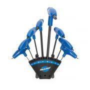 Jogo Kit De Chaves Allen Park Tool Ph-1.2 Azul Profissional