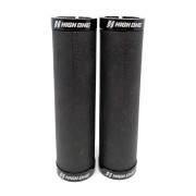 MANOPLA HIGH ONE DE SILICONE MTB 130MM COM TRAVA PRETO HOMAN0018