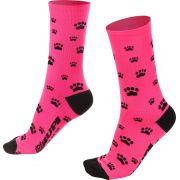 Meia Hupi Love Pets Rosa 34-38