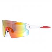 Óculos Ciclismo Absolute Prime EX Branco/Vermelho Lente Vermelha