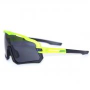 Óculos Ciclismo Absolute Wild Amarelo Neon/Preto Lente Fumê