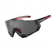 Óculos Ciclismo Elleven Preto Mod RB-SP176 Com 5 Lentes Rockbros