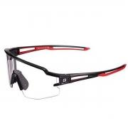 Óculos Ciclismo Rockbros Preto/Vermelho Lente Transparente