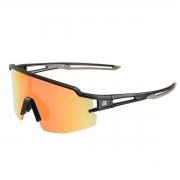 Óculos Ciclismo Rockbros Preto/Cinza Lente Polarizada Colors