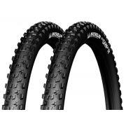 Par Pneu Michelin Wild Grip'r 29x2.10 Tubeless Mtb Kevlar
