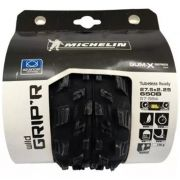 Par Pneu Michelin Wild Gripr 27.5 X 2.25 Gum-x Adv Bike + Selante Arstop 500ml