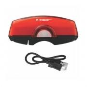 REFLETOR COM CAREGADOR USB TRAS 50 LUMENS TSW