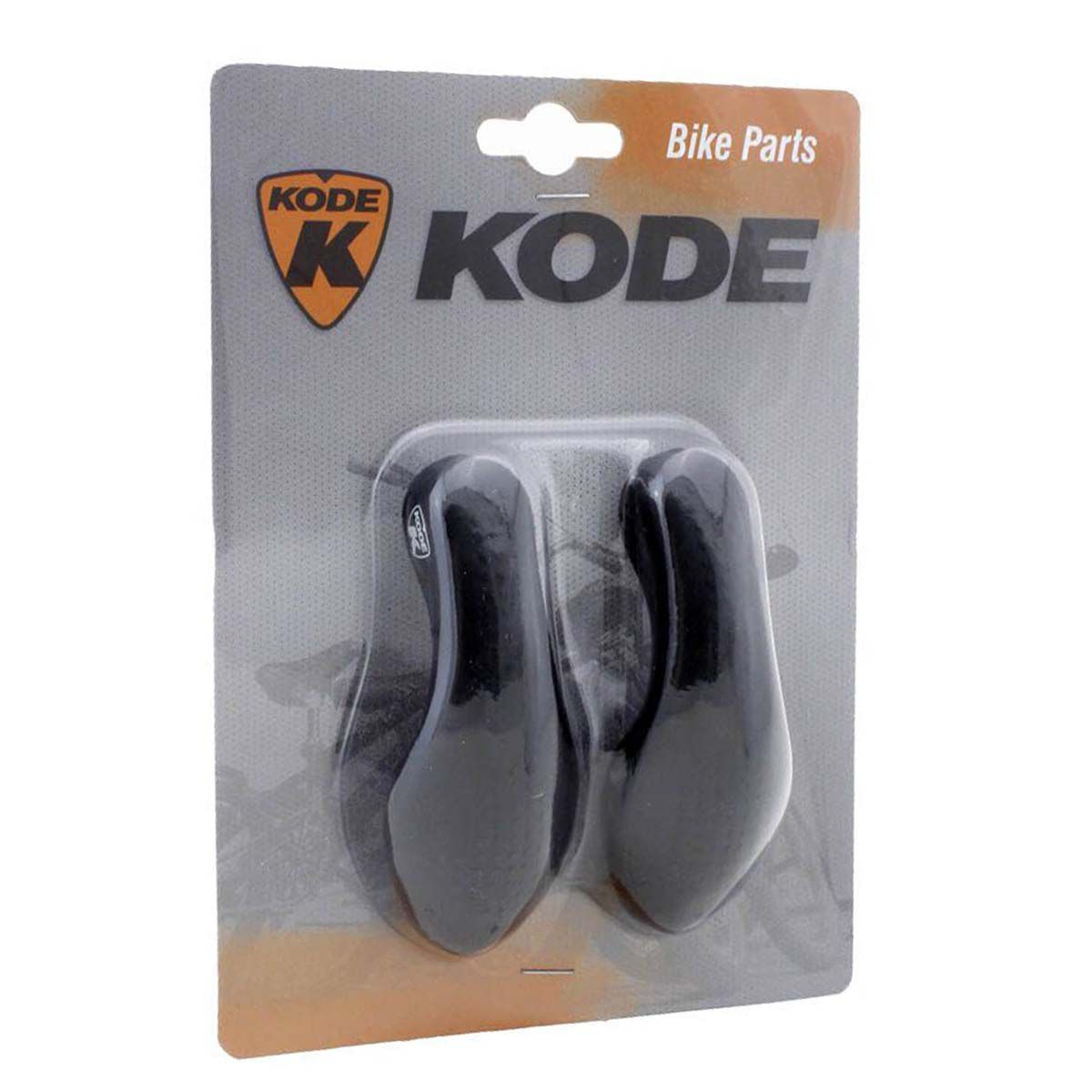 BAR END KODE SHELL SOFT GEL PRETO
