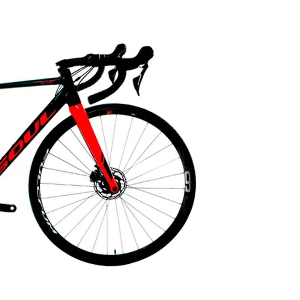 BICICLETA SOUL 3R1 DISC TIAGRA 10V GRAFITE/VERMELHO 2020