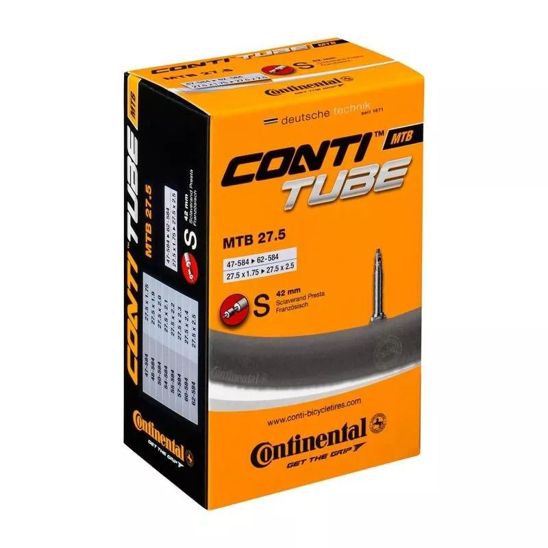 Camara Ar Continental Mtb 27,5x1.75/2.5 Valv Presta 42mm
