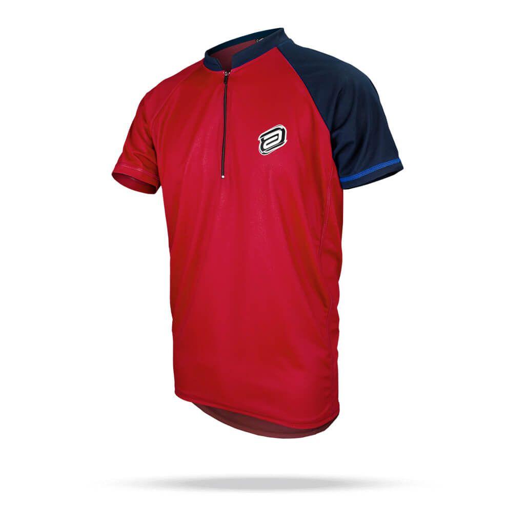 Camisa Blusa Ciclismo Masculino Asw Lazer Vermelho
