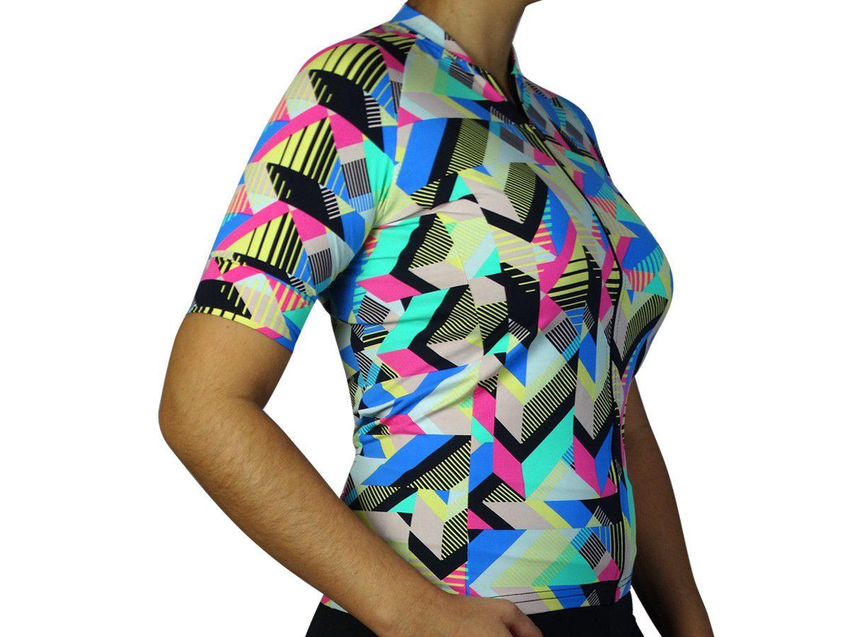 Camisa Ciclismo Feminina Márcio May Funny Good Times