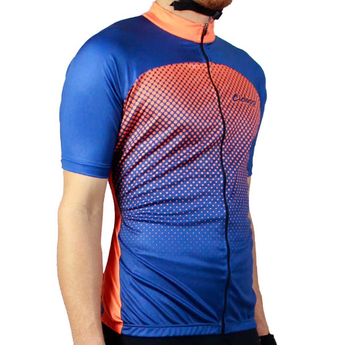 Camisa Ciclismo Masculina Ciclopp Hunter Azul Marinho