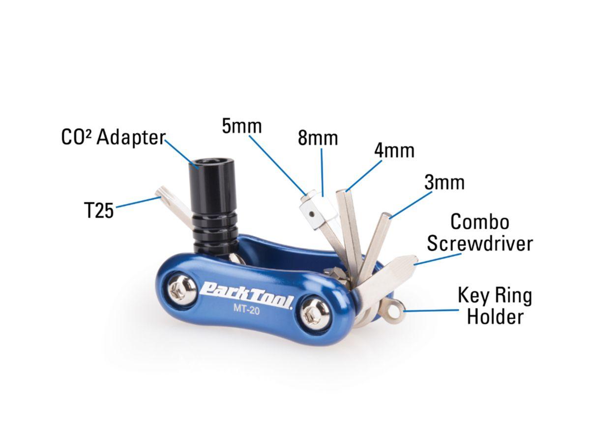 Canivete Park Tool Mt-20 Ferramenta 9 Funções
