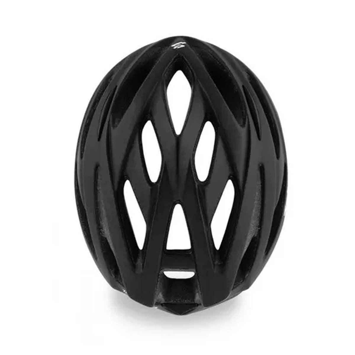 Capacete Ciclismo Spiuk Tamera Lite Preto Fosco Tam 58-62cm