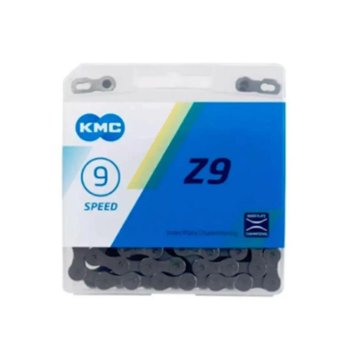 Corrente 9v Kmc Z9 Compatível Shimano Sram Original