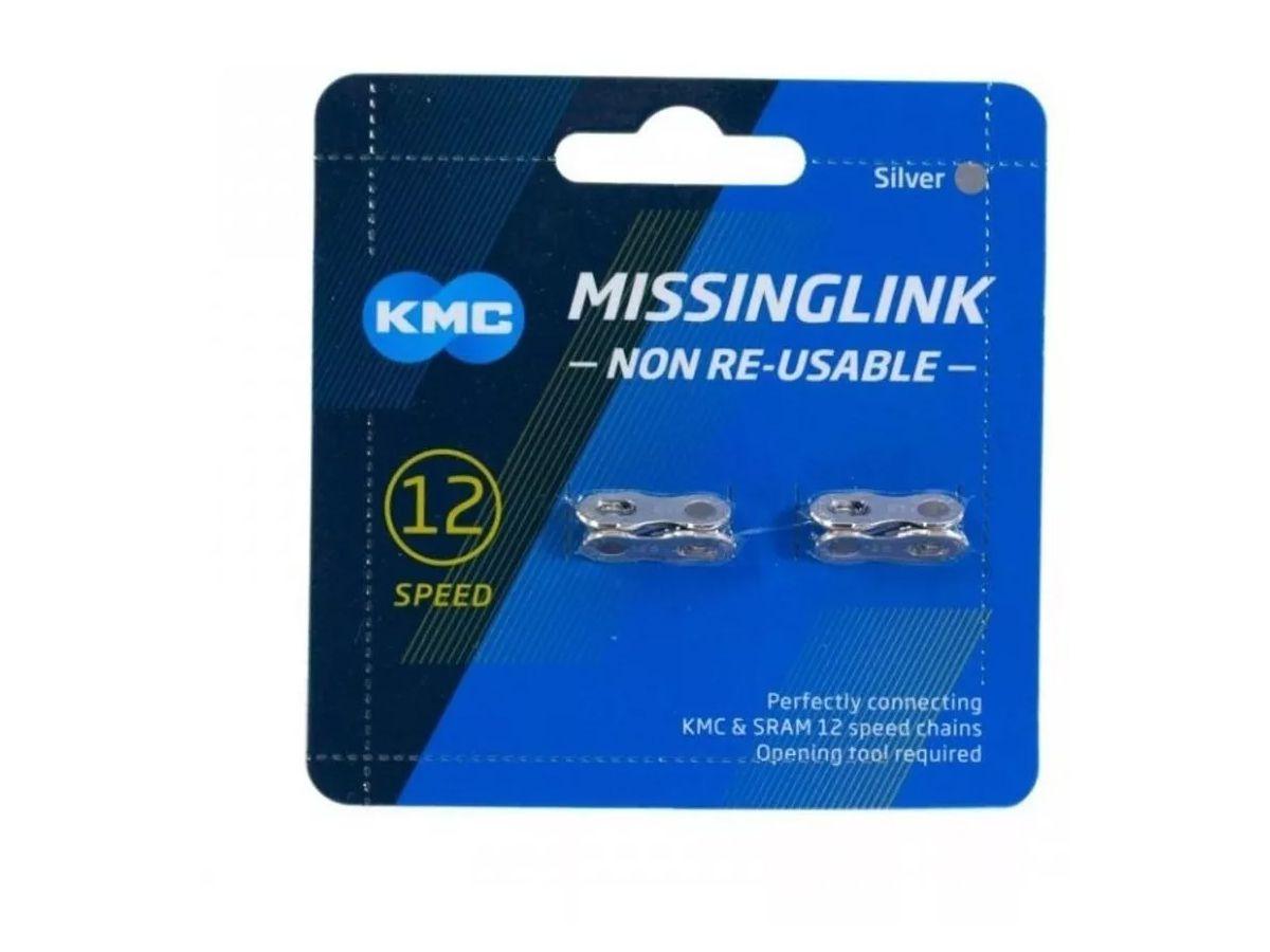 Emenda para Corrente KMC 12 CL552 Prata
