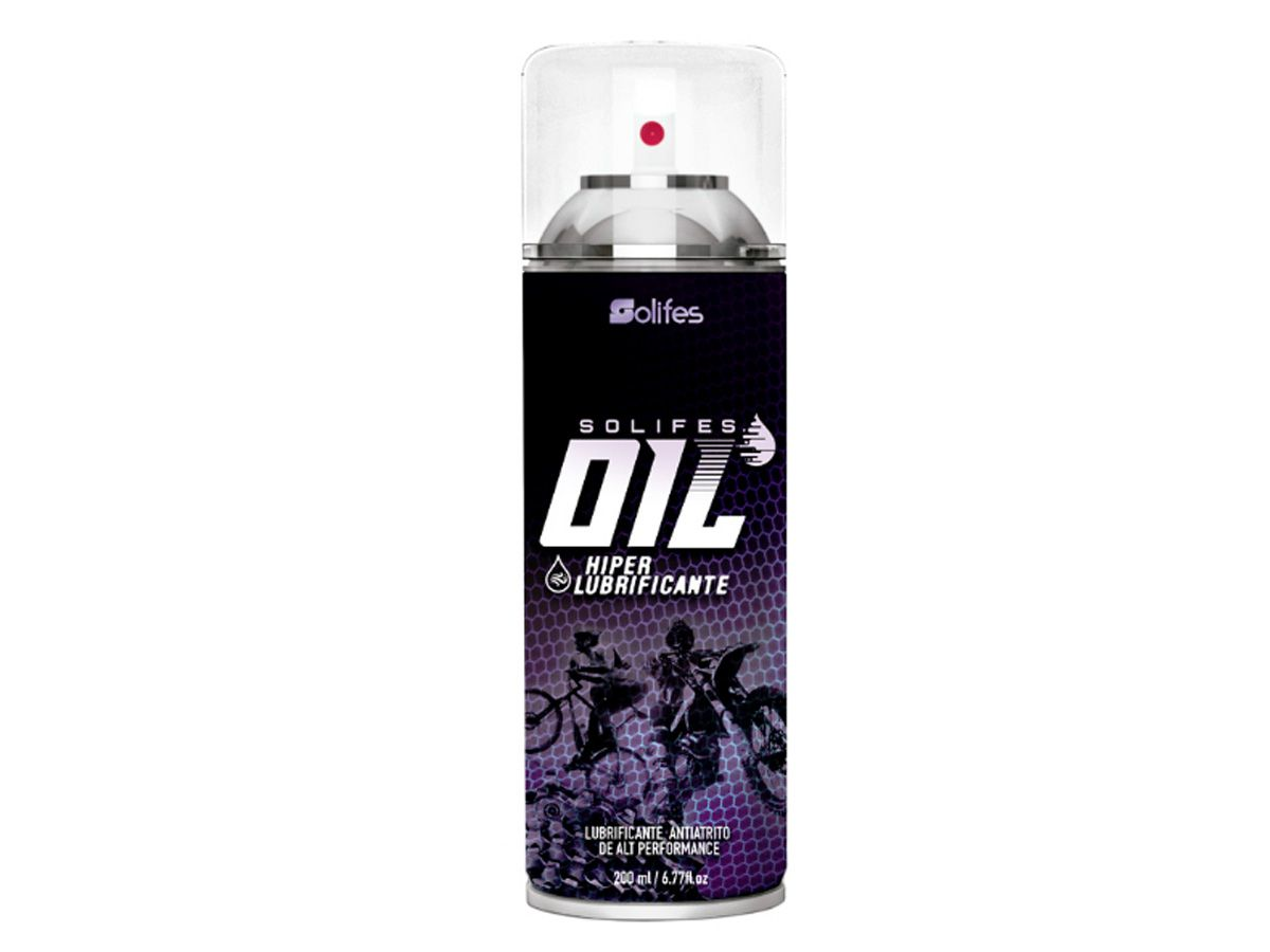 Hiper Lubrificante Solifes Oil 200ml