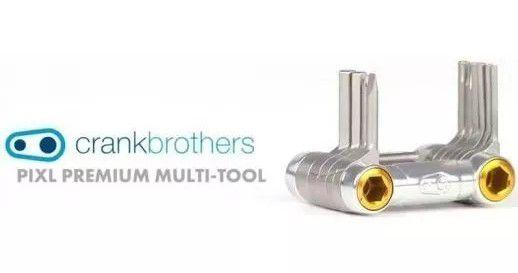 Kit Ferramenta Crank Brothers Premium Pixl 11 Funções Prata