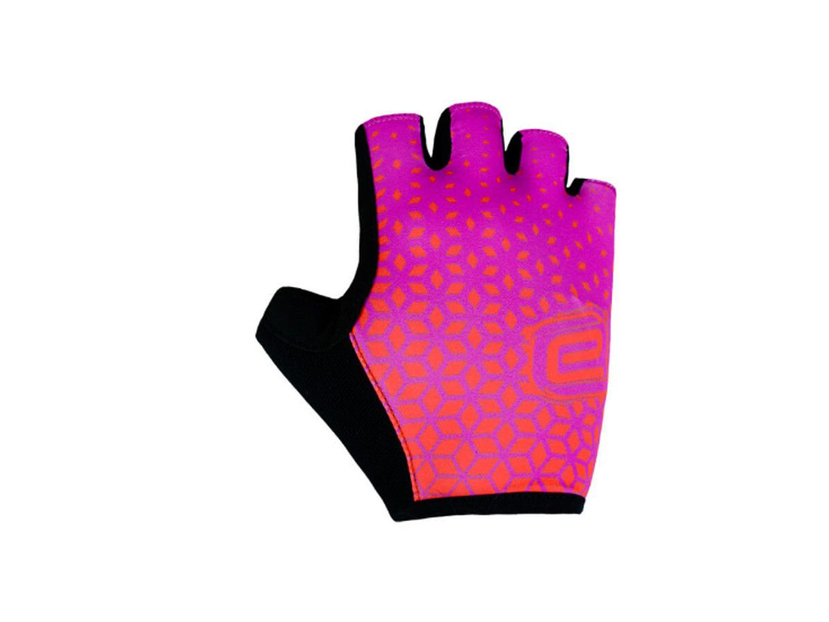 Luva Fun Aberta Dedos Ciclismo Feminina Asw Pink
